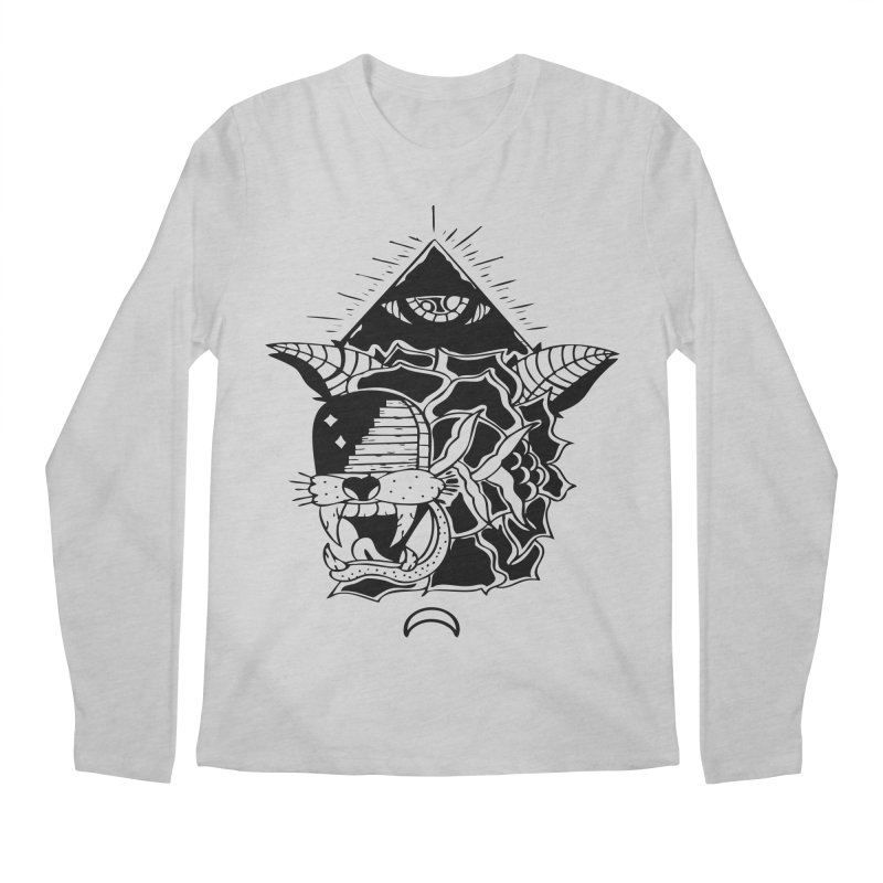 Traditional Black Men's Longsleeve T-Shirt by Hvmos Artist Shop