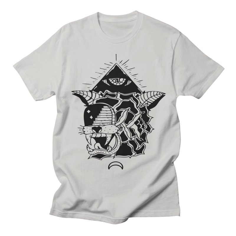 Traditional Black Men's T-Shirt by Hvmos Artist Shop