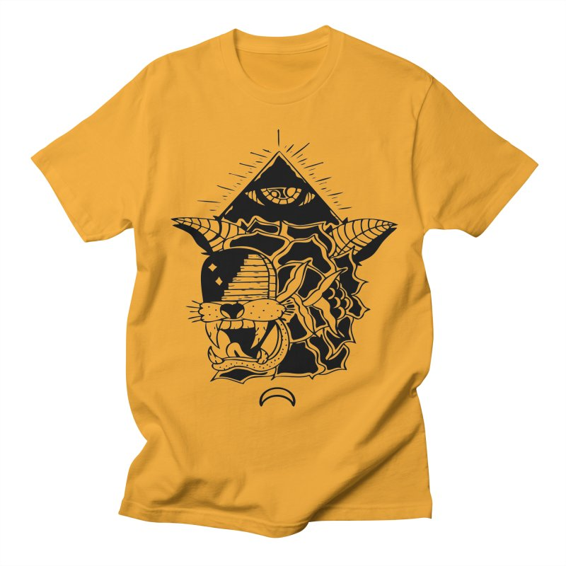 Traditional Black Men's Regular T-Shirt by Hvmos Artist Shop