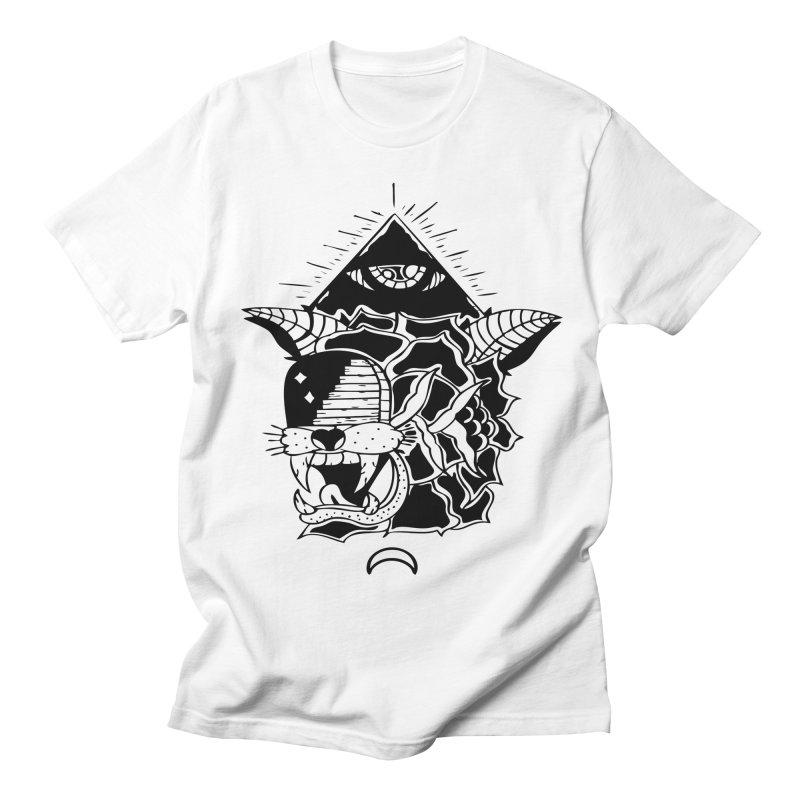 Traditional Black Men's T-Shirt by Hvmos Artist Shop