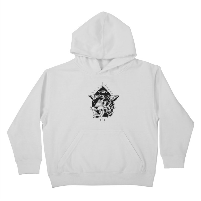 Traditional Black Kids Pullover Hoody by Hvmos Artist Shop