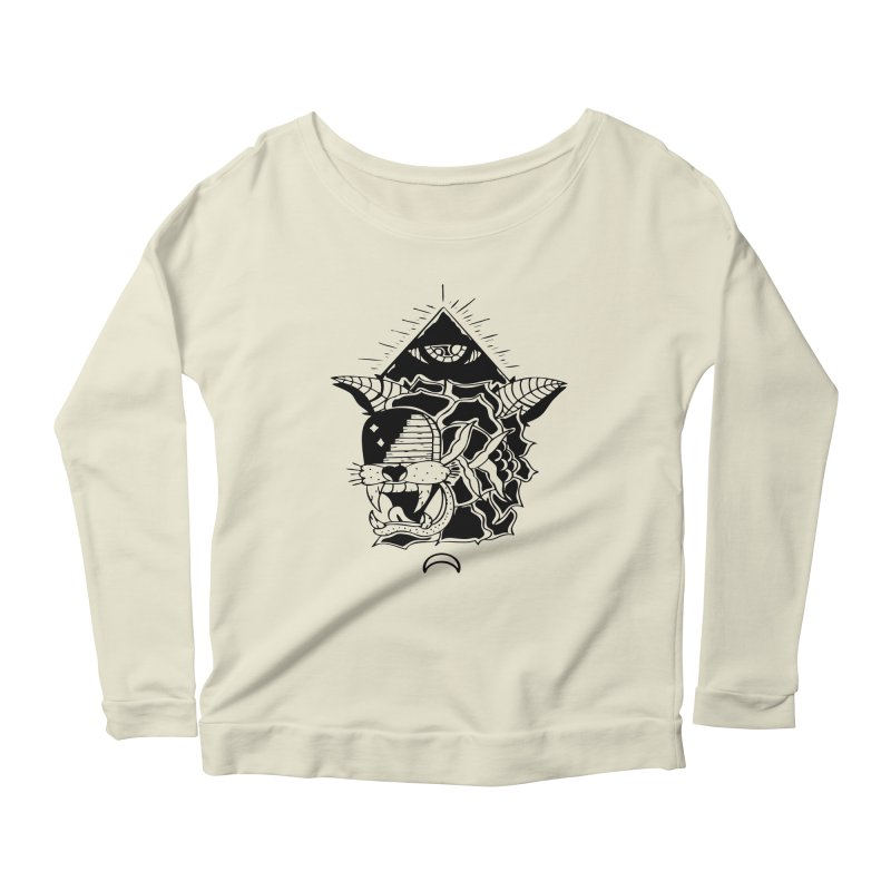 Traditional Black Women's Longsleeve T-Shirt by Hvmos Artist Shop