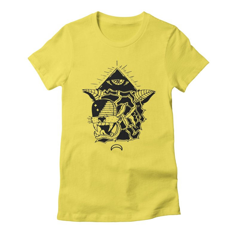 Traditional Black Women's T-Shirt by Hvmos Artist Shop