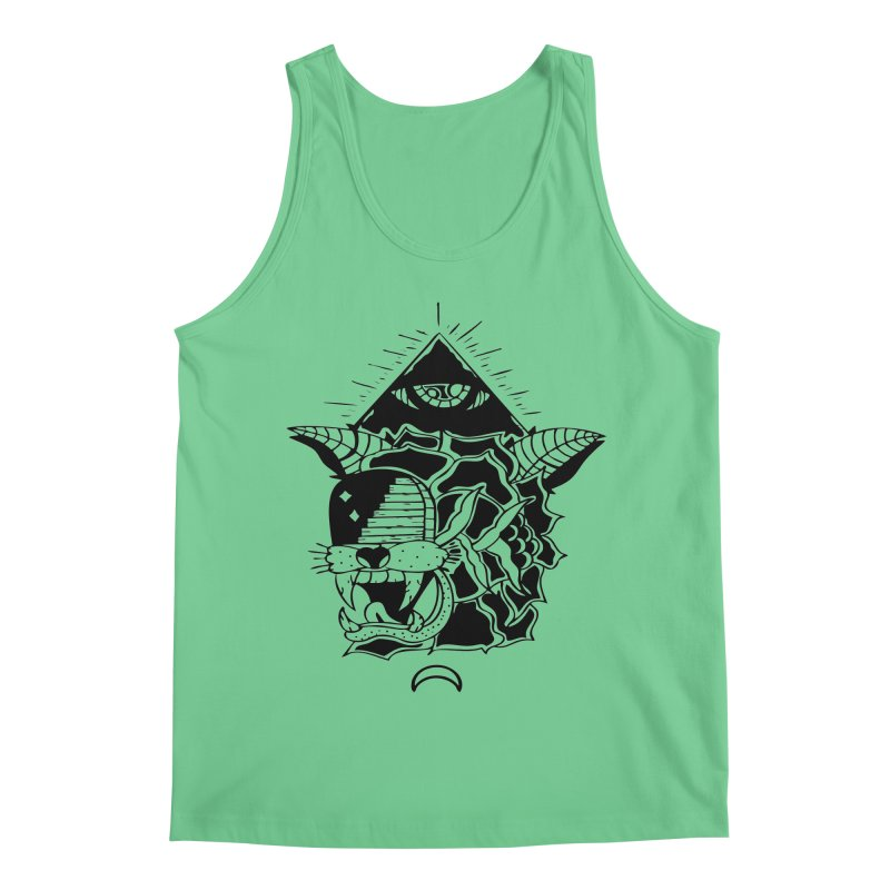 Traditional Black Men's Regular Tank by Hvmos Artist Shop