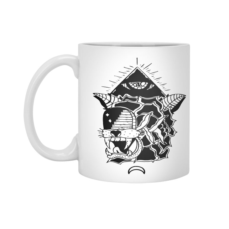 Traditional Black Accessories Standard Mug by Hvmos Artist Shop