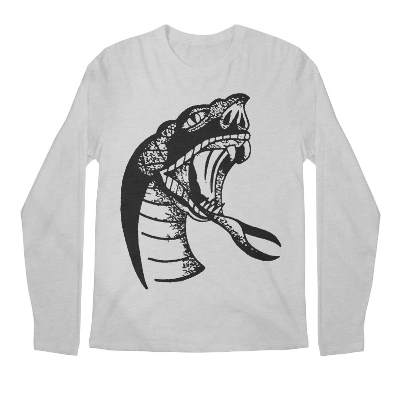 BLXCK SNAKE Men's Longsleeve T-Shirt by Hvmos Artist Shop