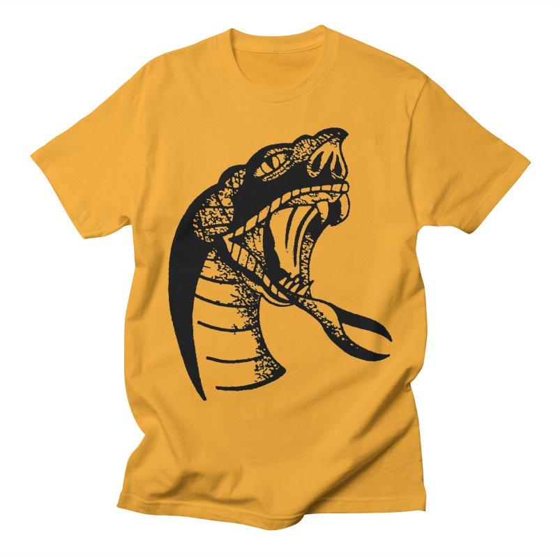 BLXCK SNAKE Men's T-Shirt by Hvmos Artist Shop
