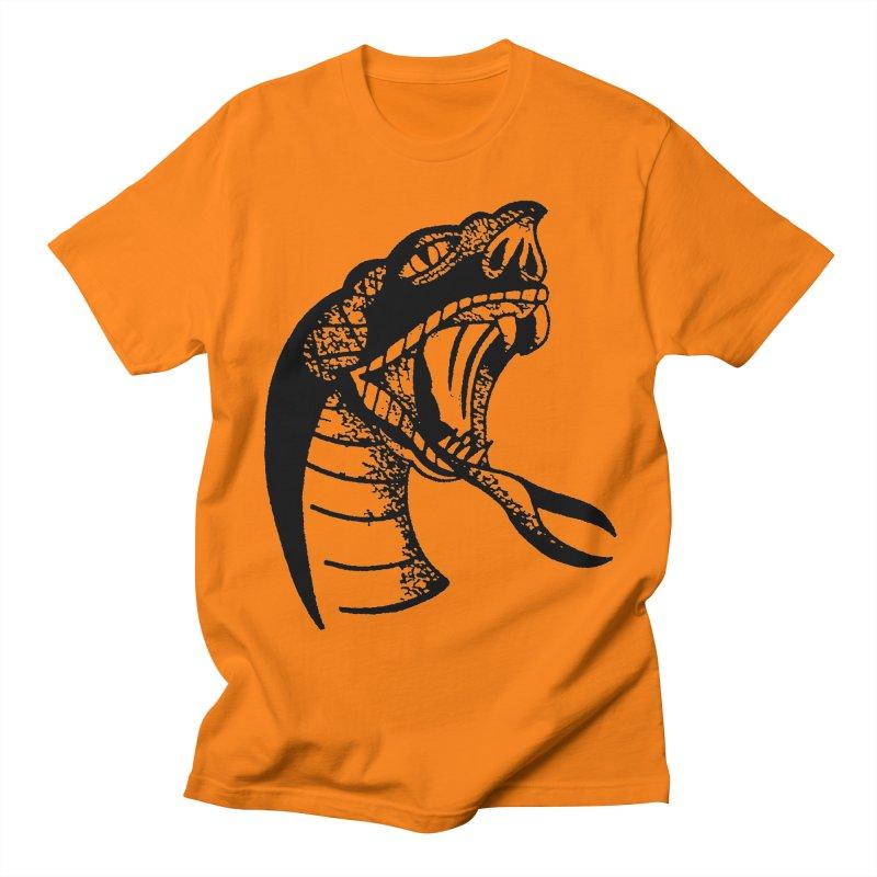 BLXCK SNAKE Women's Unisex T-Shirt by Hvmos Artist Shop