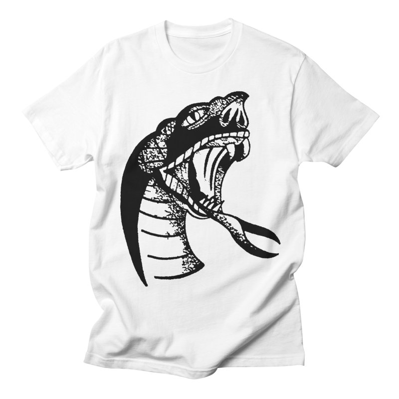BLXCK SNAKE Men's T-shirt by Hvmos Artist Shop