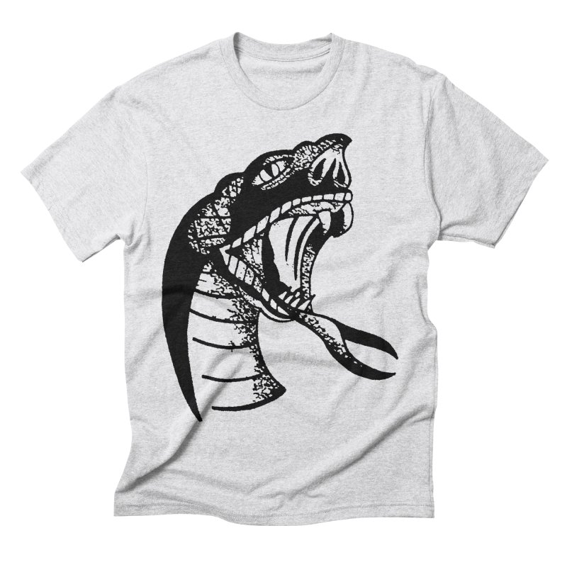 BLXCK SNAKE Men's Triblend T-Shirt by Hvmos Artist Shop