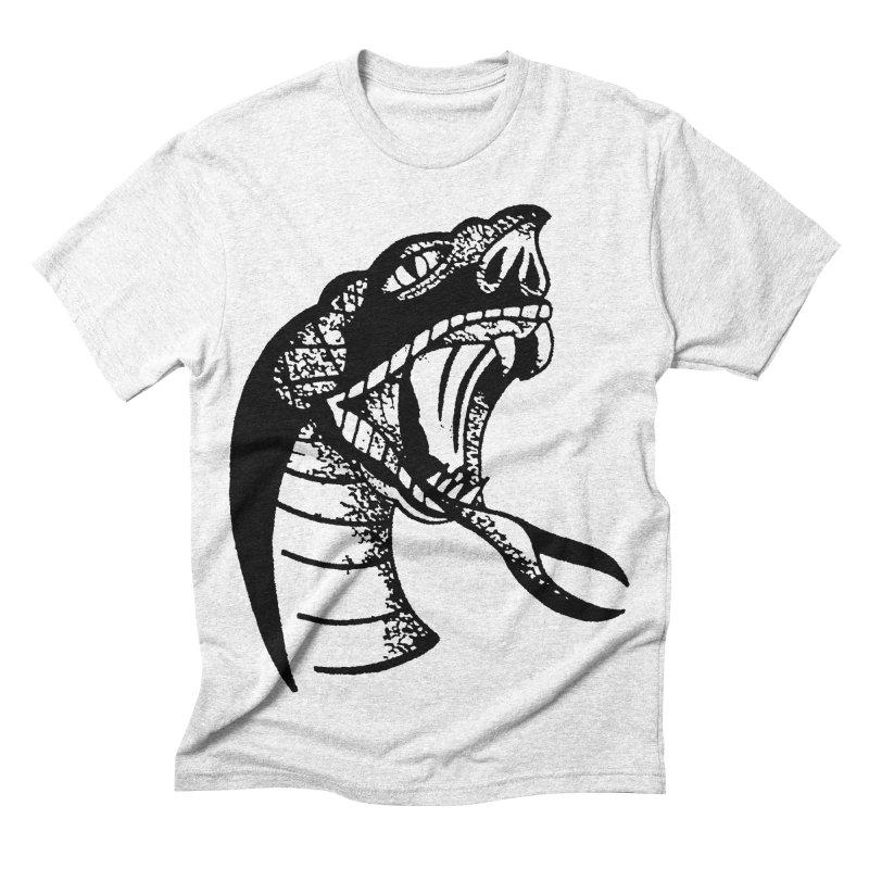 BLXCK SNAKE Men's Triblend T-shirt by Hvmos Artist Shop