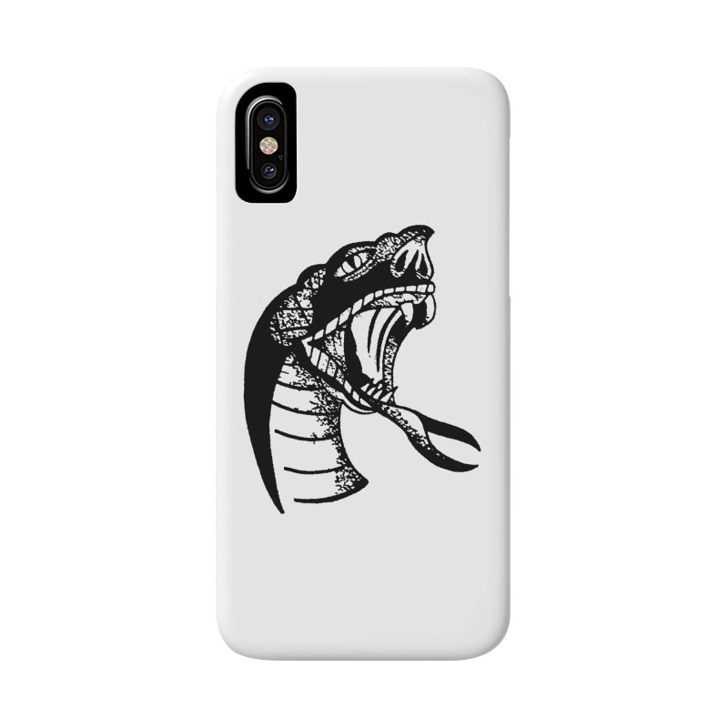 BLXCK SNAKE Accessories Phone Case by Hvmos Artist Shop