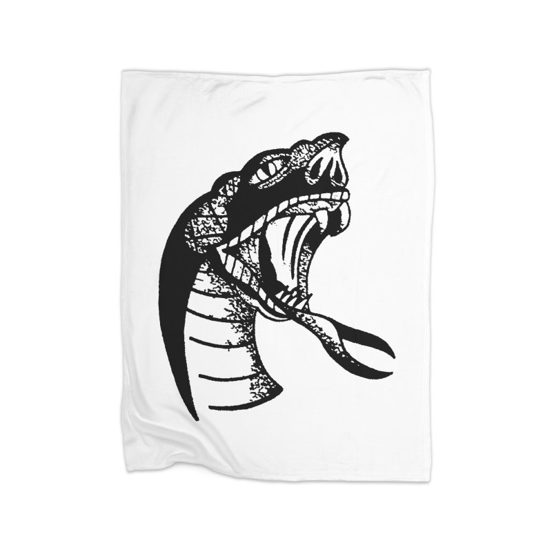 BLXCK SNAKE Home Blanket by Hvmos Artist Shop