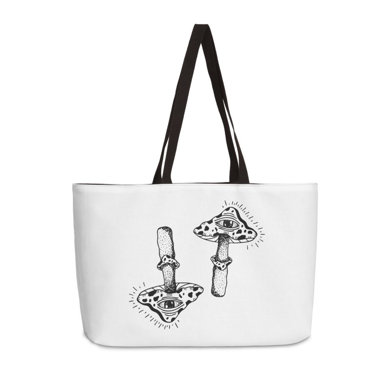 MAGIC MUSHROOM  Accessories Weekender Bag Bag by Hvmos Artist Shop