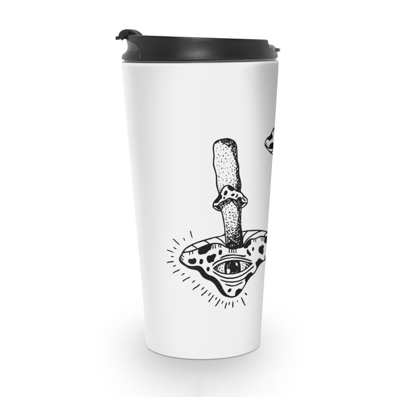 MAGIC MUSHROOM  Accessories Travel Mug by Hvmos Artist Shop