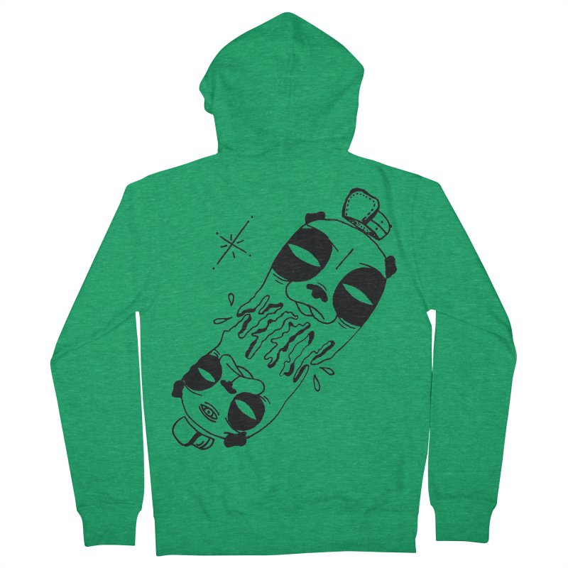 equals Women's French Terry Zip-Up Hoody by Hvmos Artist Shop