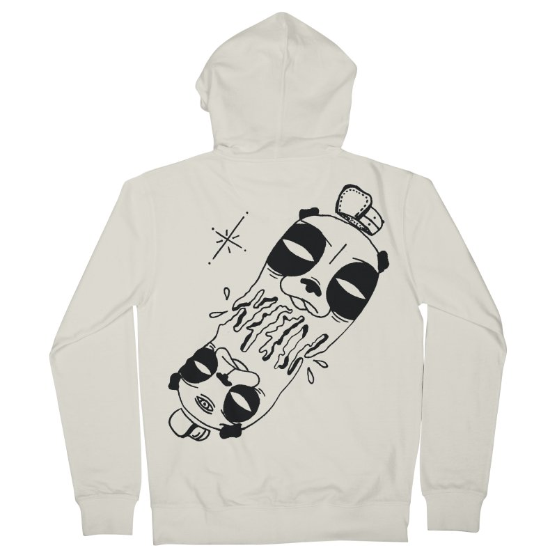 equals Men's French Terry Zip-Up Hoody by Hvmos Artist Shop