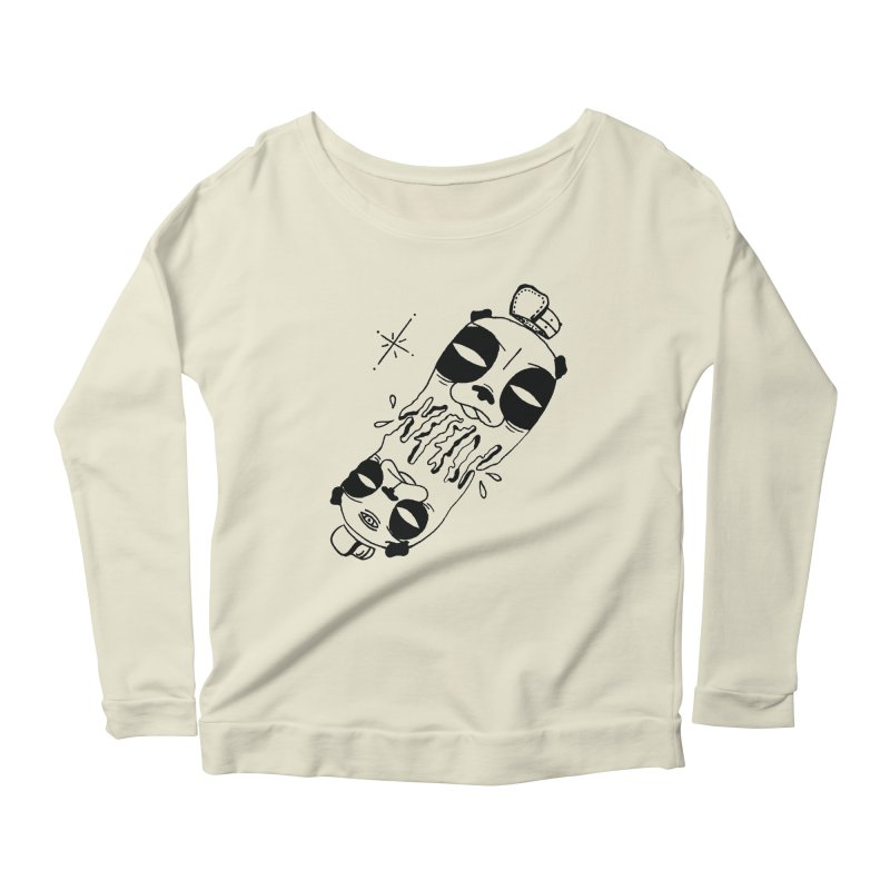 equals Women's Longsleeve Scoopneck  by Hvmos Artist Shop