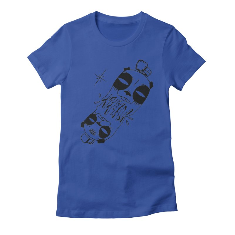 equals Women's Fitted T-Shirt by Hvmos Artist Shop