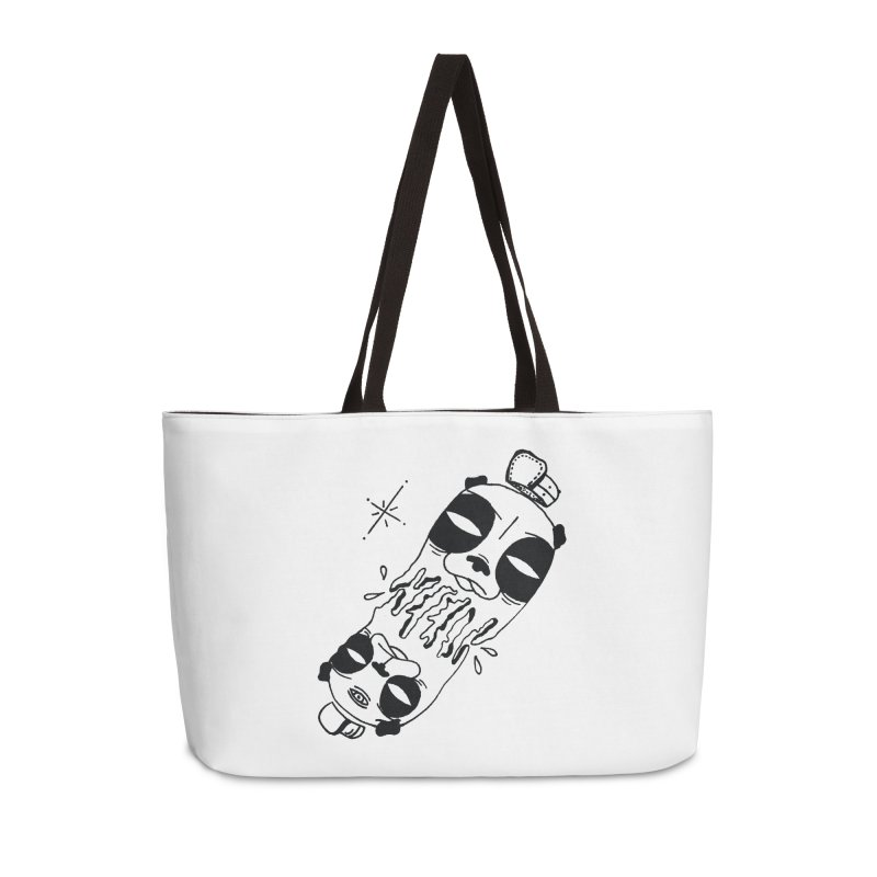 equals Accessories Weekender Bag Bag by Hvmos Artist Shop