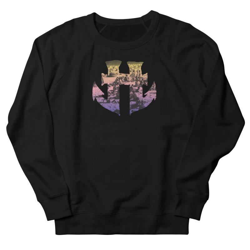Odd Aquatic #002 Beachside Men's French Terry Sweatshirt by Humanoid Wakeboards