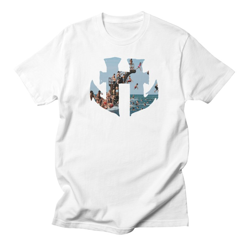 Odd Aquatic #003 High Dive in Men's T-Shirt White by Humanoid Wakeboards