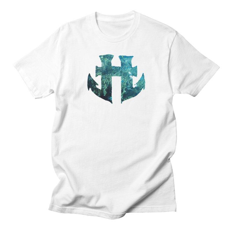 Odd Aquatic #004 Scuba in Men's Regular T-Shirt White by Humanoid Wakeboards