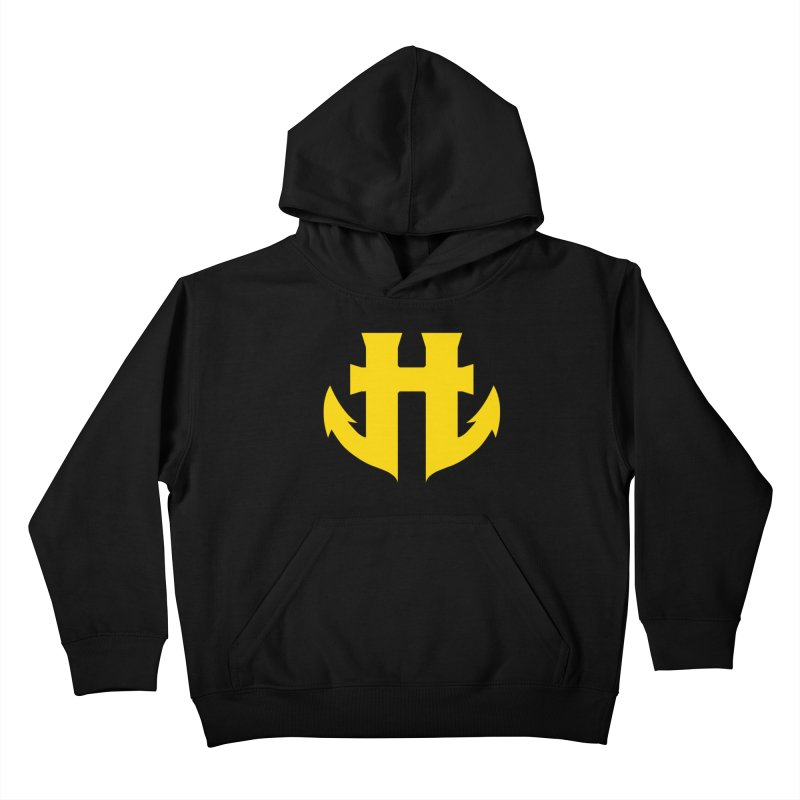 Standard Split Anchor 012 Kids Pullover Hoody by Humanoid Wakeboards