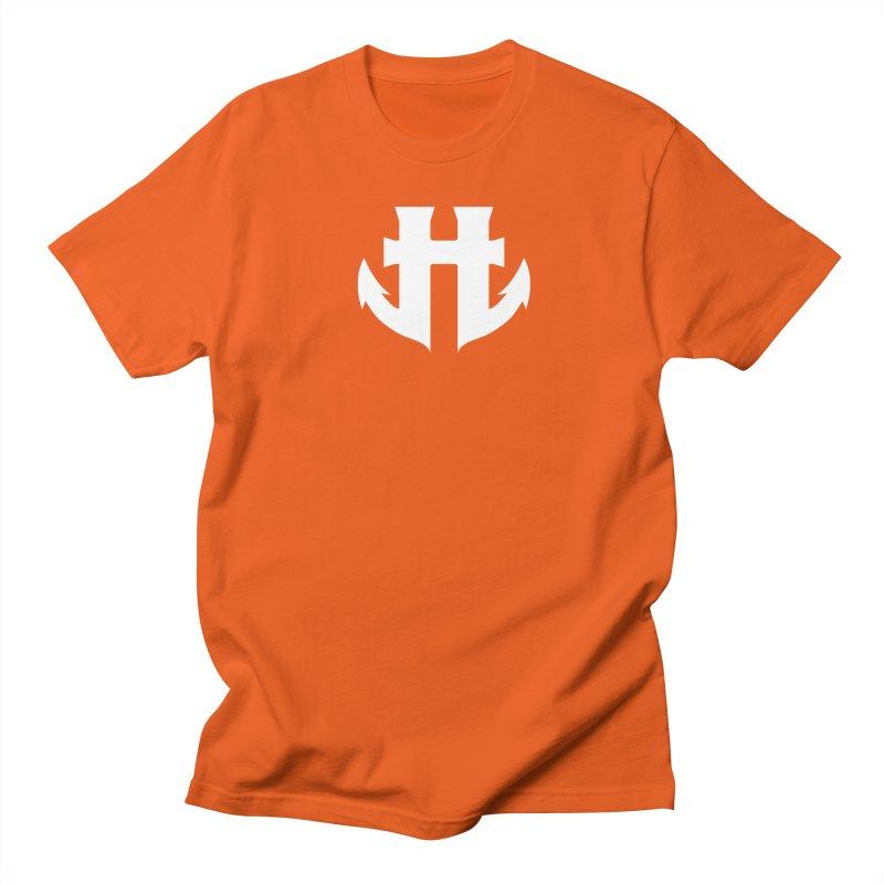 Standard Split Anchor Classic White Men's Regular T-Shirt by Humanoid Wakeboards