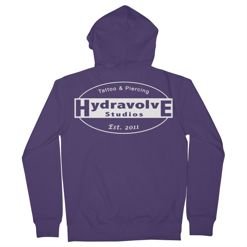 HydraLogo Women's French Terry Zip-Up Hoody by Hydravolve's Artist Shop