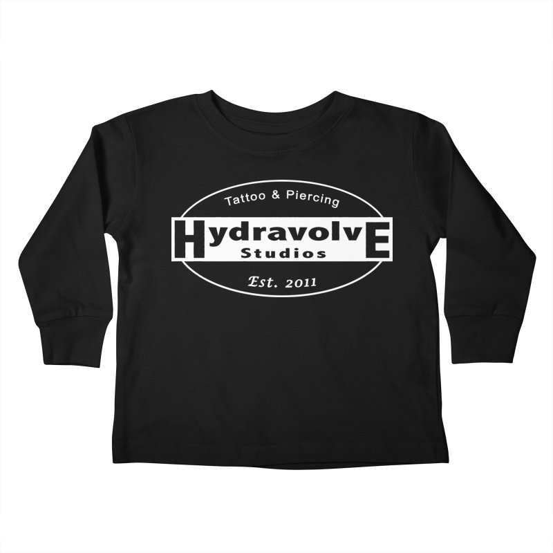 HydraLogo Kids Toddler Longsleeve T-Shirt by Hydravolve's Artist Shop