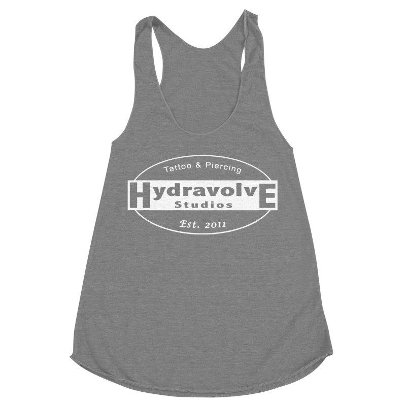 HydraLogo Women's Racerback Triblend Tank by Hydravolve's Artist Shop