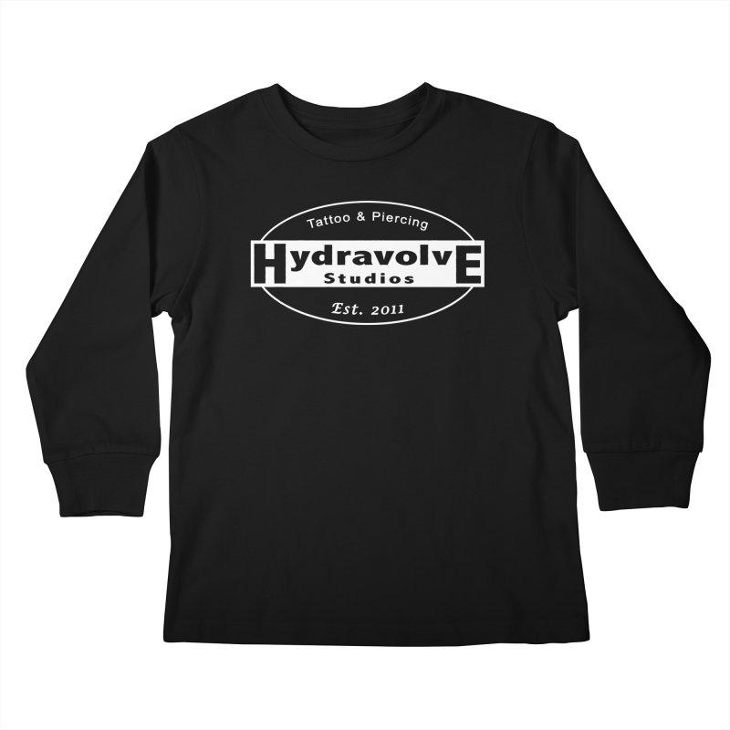 HydraLogo Kids Longsleeve T-Shirt by Hydravolve's Artist Shop