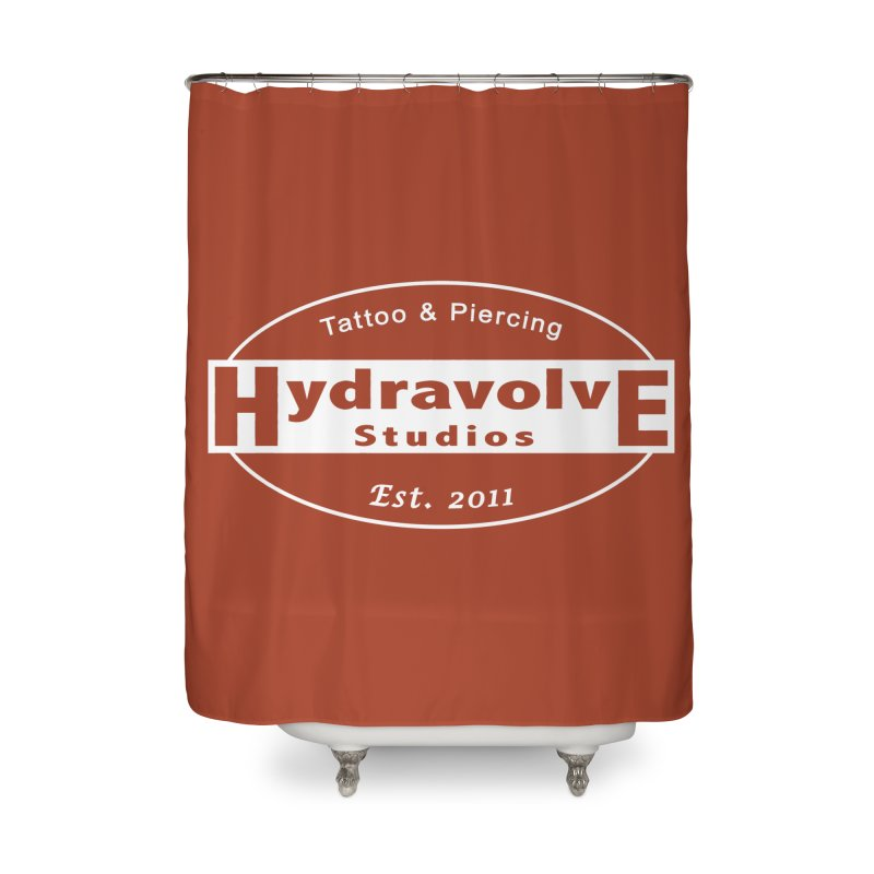 HydraLogo Home Shower Curtain by Hydravolve's Artist Shop