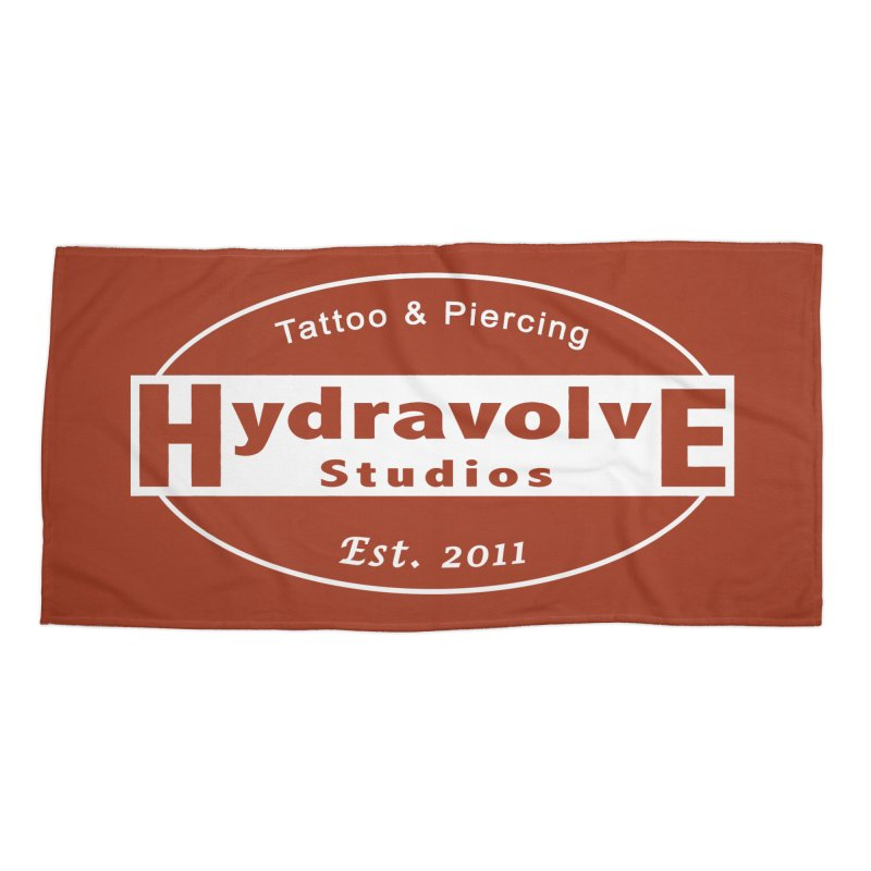 HydraLogo Accessories Beach Towel by Hydravolve's Artist Shop
