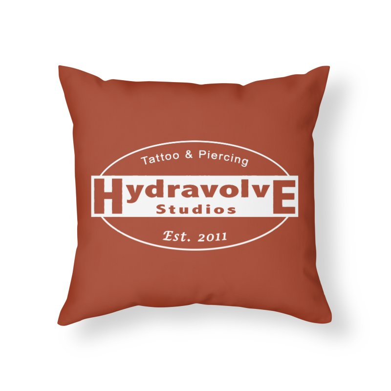 HydraLogo Home Throw Pillow by Hydravolve's Artist Shop