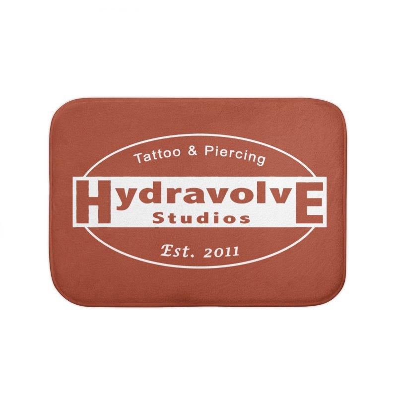 HydraLogo Home Bath Mat by Hydravolve's Artist Shop