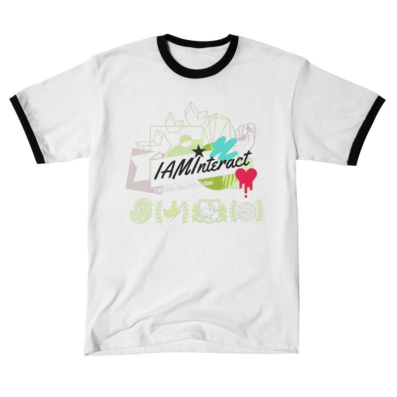 "Artist @corsoarts for #IAMInteract Logo Art ""I AM Your Story"" Men's T-Shirt by IAMInteract's Artist Shop"