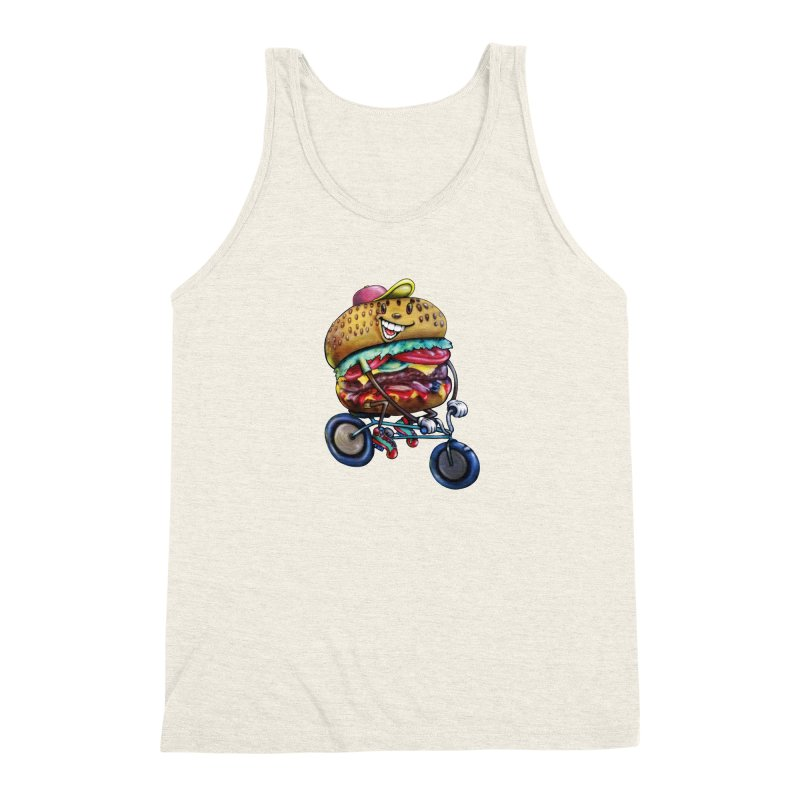 New Year New Me Men's Triblend Tank by IDC Art House