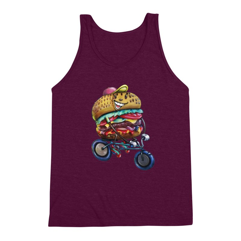 New Year New Me Men's Triblend Tank by Stiky Shop