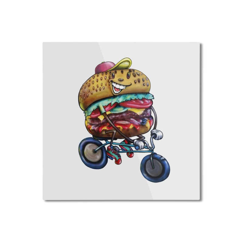 New Year New Me Home Mounted Aluminum Print by IDC Art House