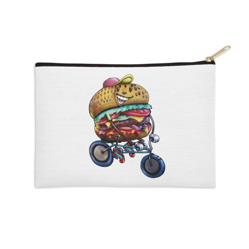 New Year New Me Accessories Zip Pouch by IDC Art House