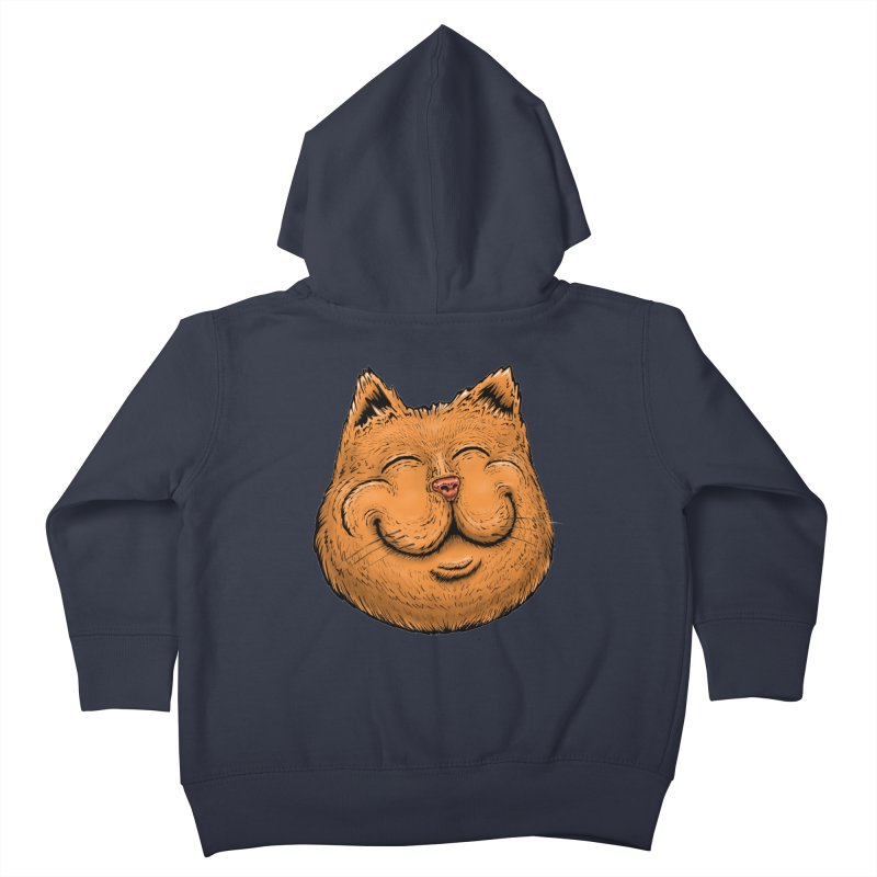 Happy Cat Kids Toddler Zip-Up Hoody by Stiky Shop