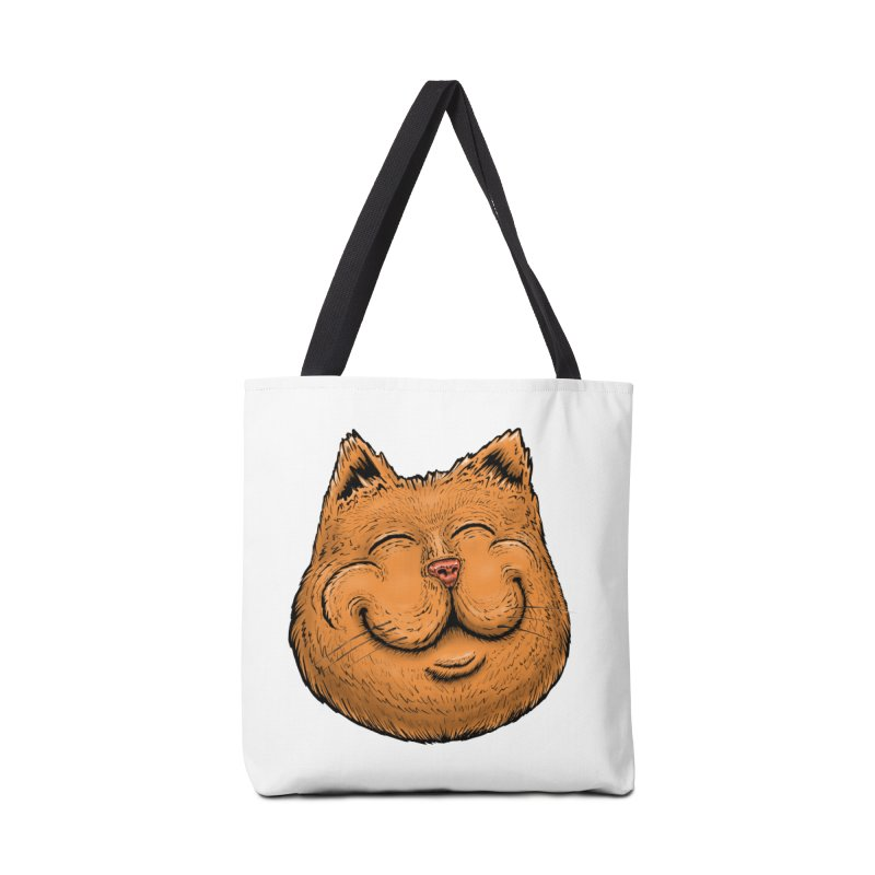 Happy Cat Accessories Tote Bag Bag by Stiky Shop