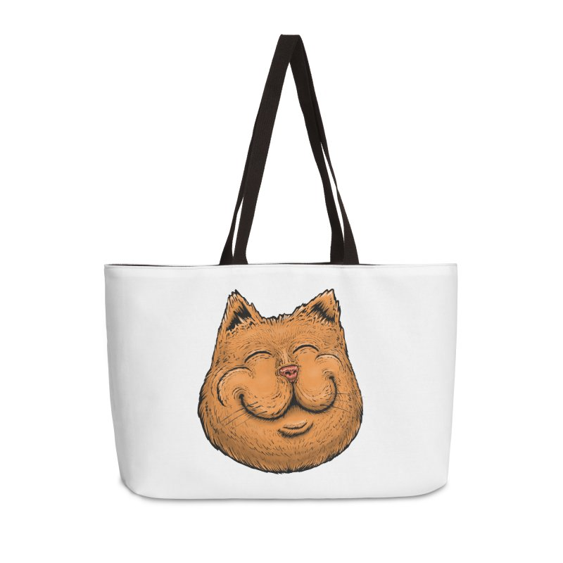Happy Cat Accessories Weekender Bag Bag by Stiky Shop