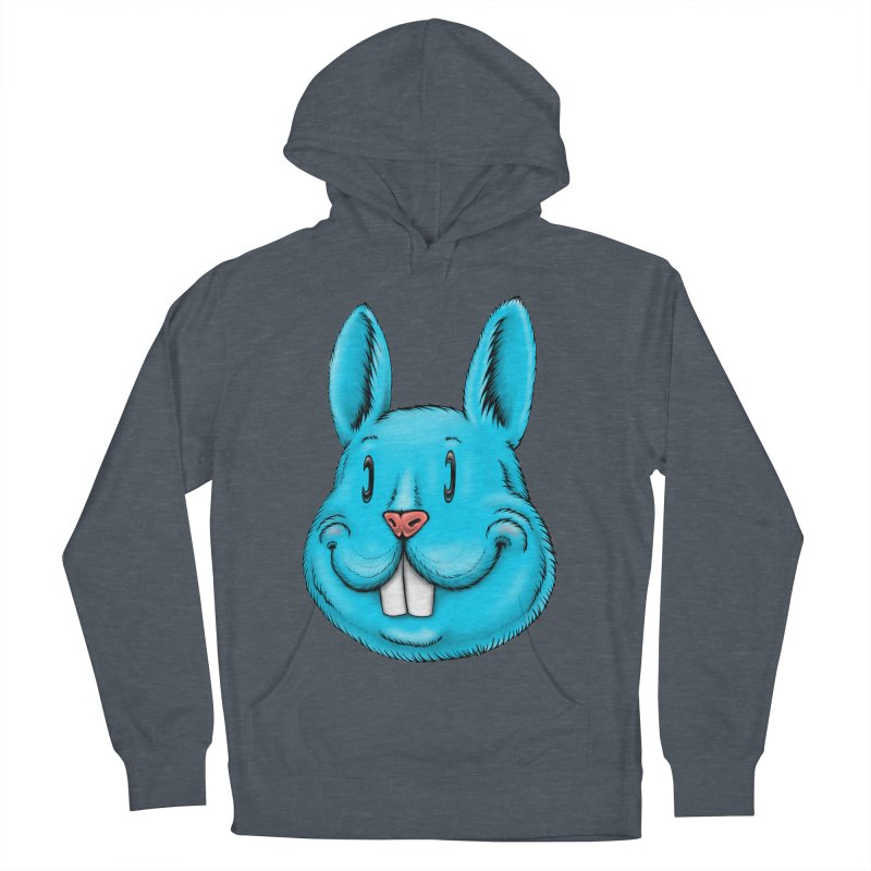 Bunny Women's French Terry Pullover Hoody by IDC Art House