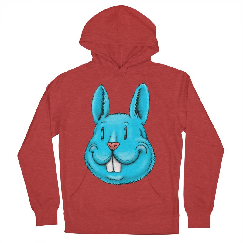 Bunny Women's French Terry Pullover Hoody by Stiky Shop