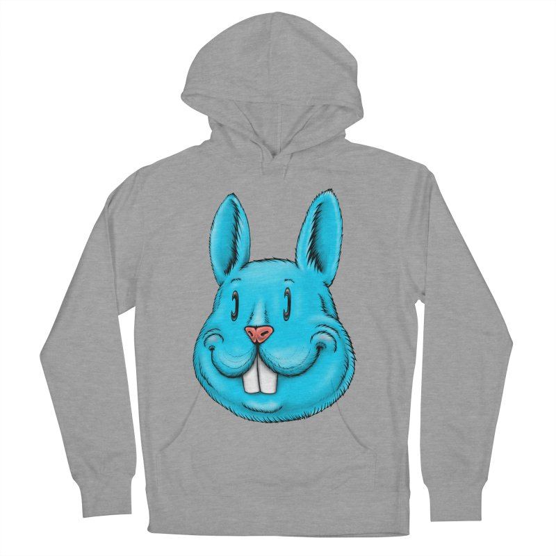 Bunny Men's French Terry Pullover Hoody by IDC Art House