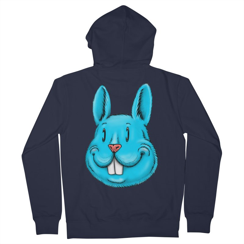 Bunny Women's French Terry Zip-Up Hoody by Stiky Shop