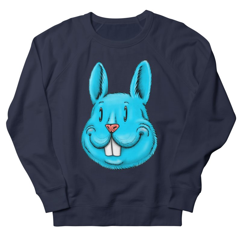 Bunny Women's French Terry Sweatshirt by Stiky Shop